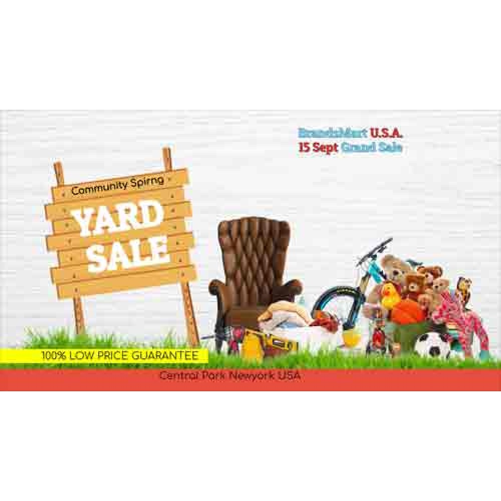 Clearance Sales Promo